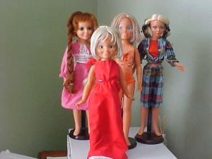 70's dolls 4 of them